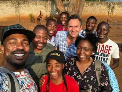 group photo in zimbabwe